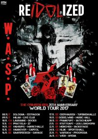 wasp re idolized tour