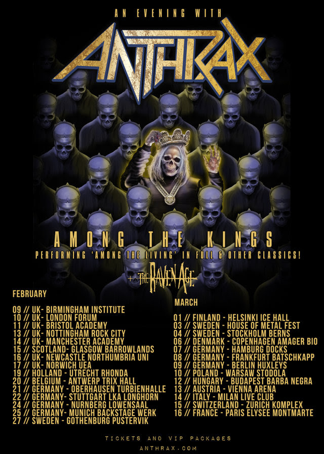 Anthrax tour